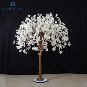1.5m Height Artificial White Cherry Blossom Wedding Decor Moisture Resistant