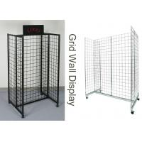 Buy cheap Gridwall Gondola Grocery Store Display Racks For Supmarket Iron Frame H Shape from wholesalers