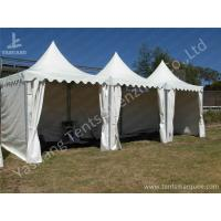 Buy cheap No Window High Peak Tents Structure For Small Party , White Fabric Cover from Wholesalers