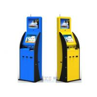 Buy cheap Indoor Dual Display Self Service Payment Kiosk Interactive With POS Terminal from Wholesalers