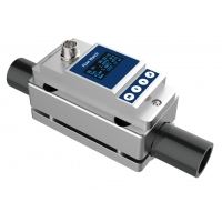 Buy cheap OLED Display 24VDC Clamp On Water Flow Meter product