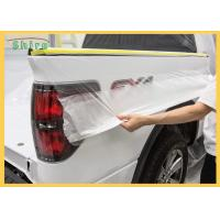 Buy cheap Automotive Spray Protective Car Painting Protection Masking Film product