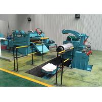 China High Speed Steel Coil Cutting Machine Semi Automatic 800 - 2500mm Width on sale