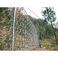 China Hot Dipped Galvanizedsteel Metal Ring Mesh Plain Weave Slope Stabilization System on sale