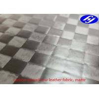 Buy cheap Matte Polyurethane Leather Fabric TPU Coated Spread Tow Carbon Fiber For Car Decoration product