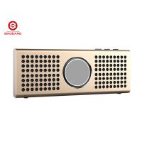 Buy cheap High Fidelity Aluminum Ultra-thin Bluetooth Travel Speakers For PC / Ipod / Ipad product