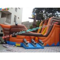 Durable Adult PVC tarpaulin Inflatable Slide Large for rent, re-sale, commercial, home-use