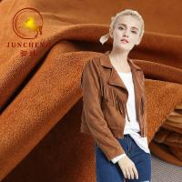 Buy cheap China factory wholesale suede fabric for winter coat product