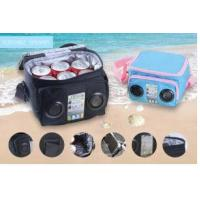 Buy cheap 600D material cooler bag with 2 speaker product
