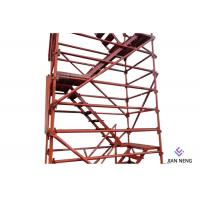 Buy cheap 2500X1200mm Highways Scaffold Stair Tower Good Overall Stability With Twin Guardrail product