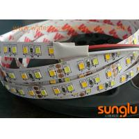 Buy cheap Double Color Flexible LED Strip Lights Tunable 5050 WW / White LED Tape product