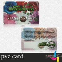 Buy cheap Magnetic Clear Plastic ID Cards With Barcode Support Photo , Name Printing product