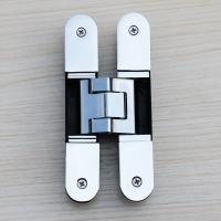 Buy cheap 3d adjustable wood door hinge shiny chrome product