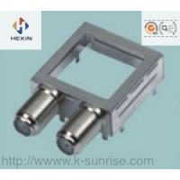 Buy cheap rf connector with metal shield case for set top box product