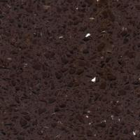 Flooring tiles solid surface artificial quartz stone kitchen countertop with brown mirror - Corian of quartz ...