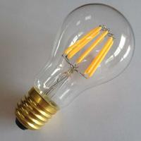 energy saving led filament light bulbs daylight a19 120volt e26 medium. Black Bedroom Furniture Sets. Home Design Ideas