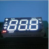 Buy cheap Ultra White /Red 3 Digit Multiplexed Seven Segment Display Led Cathode for Heating product