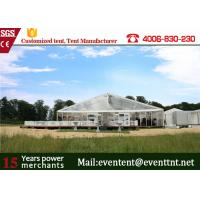 Buy cheap Fashion Wedding Clear Span Tent Easy Assemble With Transparent Cover ISO from Wholesalers