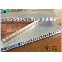 Buy cheap Material Saving Perforated Aluminum Honeycomb Core Heat Insulation Fire Prevention product