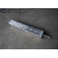 Buy cheap High Potential AZ63C M1C Magnesium Anode With Standard Ribbon Steel Core from Wholesalers