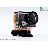 Buy cheap Compact 2 Inch Dual Screen 4k Waterproof Action Video Camera K8 360VR 170 Degree product