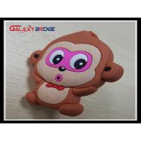 Buy cheap Animal Monkey Rubber Knobs  Childrens Bedroom Drawer Knobs Soft Plastic Dresser Handles product