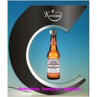 Buy cheap magnetic  new style rotating  display rack for   red  wine product