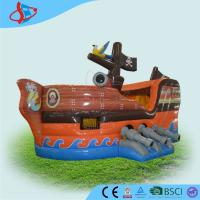 Buy cheap Pirate Ship towable PVC Inflatable Boats for kids 0.4+0.55mm PVC product