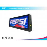 Buy cheap Full Color P5mm Taxi top LED Display With Large Viewing Angle , Led Taxi Roof Signs product