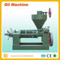 Flax Seeds Oil Press Machine Canola Oil Extraction