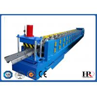 Buy cheap Standard Size Highway Roadside W Beam Guardrail Roll Forming Machine product