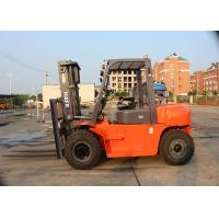 Buy cheap 6000 Kg Diesel Powered Forklift With Container Mast And Side Shift product