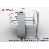 Buy cheap DC 24V Brush Motor Waist High Turnstile , Automatic Systems Turnstiles CE Approved product