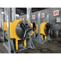 China Hydraulic Lifting Pipe Turning Welding Rotary Positioner / Automatic Welding Positioner With Welding Chuck on sale