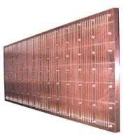 Buy cheap Low Carbon Copper Mould Plate For Continuous Casting Machine , ISO Certification product