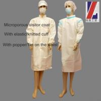 Buy cheap Microporous Visitor Coat product