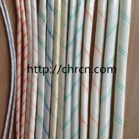 China High Quality Electrical Insulation 2715 PVC Fiberglass Sleeving on sale