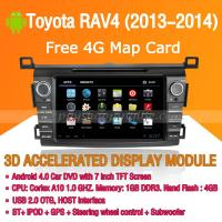 Buy cheap Android Car DVD Player GPS Navigation Wifi 3G for Toyota RAV4 2013 2014 Bluetooth Touch Screen product