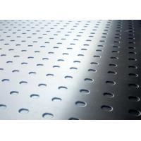 Buy cheap Medium Size Slotted Perforated Metal Large Open Area High Strength product
