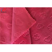 Buy cheap Embossed Minky Plush Fabric Super Soft Baby Blanket Using 100% Polyester Knitting product