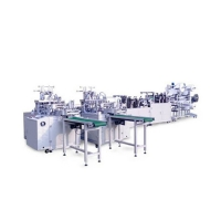Buy cheap Disposable Three Layer Outer Earloop Mask Manufacturing Machine product
