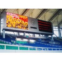 Buy cheap Advertising Epistar LED Chip SMD P10 Indoor Full Color LED Video Wall Screen Large Stadium Digital Billboards Display product