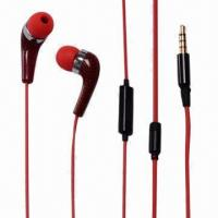 Buy cheap Wired Handsfree Earphones with 20Hz to 20kHz FR/3.5mm Stereo Plug/10mm Driver, OEM Orders Accepted product