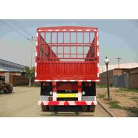 Buy cheap Tri Axle Tractor Trailer Truck 50 Tons Side Wall Semi Trailer Customized Available product