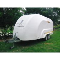 Buy cheap Fibreglass Reinforced Plastic Motorcycle Luggage Trailer Customized Painted Surface product