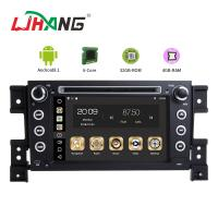 Buy cheap MP3 MP4 USB SD GPS SUZUKI Car DVD Player Double Din Head Unit Support TPMS product
