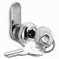 China Mechanism Lock with 19mm Diameter Cam Lock Keys and Stainless Steel Cap on sale