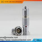 Buy cheap FGG/EGG 0B 2 pins push pull circular compatible lemo connector product