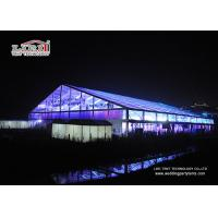 Buy cheap Transparent 50 by 50 Meters Hugh Aluminum Marquee with Tables & Chairs for Events product