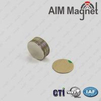 Buy cheap Small Thin Round Flat Magnet 2016 product